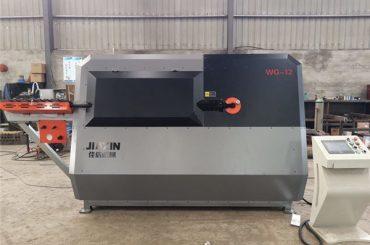 producător china 4-12mm automată cnc de control sârmă de oțel, mașină de îndoit îndoiți