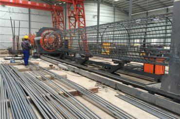 fabricate în china simplă funcționare durabilă și robustă de asigurare a calității oțel mașină de sudare cu colivie cuțite și consolidarea cușcă de luare a face